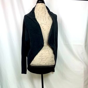 Wilfred Grey Open Front Cardigan Size XXS